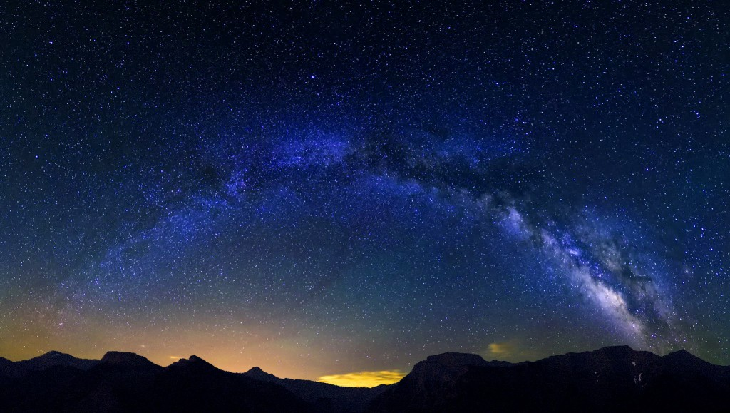 Milky Way seen from the American Rockies